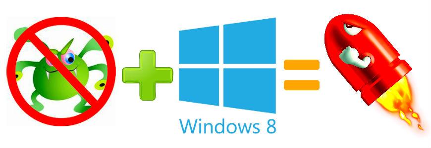 Antivirus per Windows 8.1 piu leggero