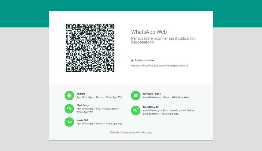 Utilizzare WhatsApp sul PC