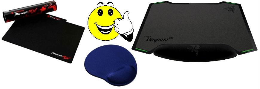 Tappetino mouse da gaming o personalizzato.
