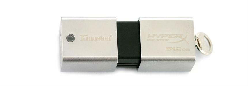 Pen drive Usb 3 Hyperx Predator da 512 GB.