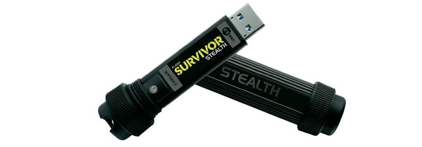 corsair flash survivor stealth penna usb 3.0.