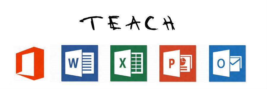 Corso office di Microsoft per Word, Excel e PowerPoint.